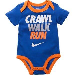 6df02b6cb Nike One Pieces   Crawl Walk Run Onesie   Poshmark